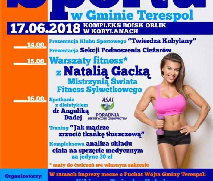 Dzień sportu w Kobylanach 17.06.2018
